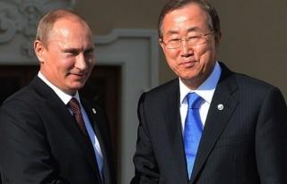 BM Genel Sekreteri Putin ve Lavrov ile görüştü