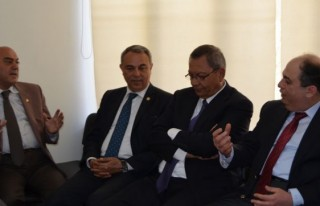 KMTSO'dan MHP'ye İade-i Ziyaret