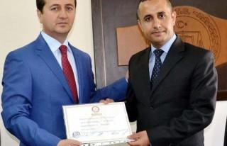 Pazarcık'ta  Bozdağ mazbatasını aldı
