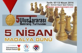 Satranç Turnuvası 7-13 Nisan'da Yapılacak