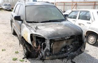 Park Halindeki Otomobil Alev Aldı
