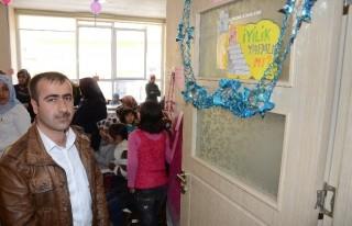 Suriyeliler yararına pasta yarışması düzenlendi...
