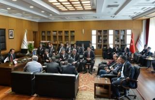 Başkan Erkoç'a Hayırlı Olsun Ziyaretleri