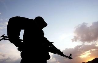Şemdinli'de taciz ateşi bir askeri yaralandı