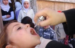 Suriye'de 5,5 milyon çocuk aşılandı