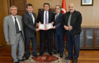 Türk Dünyası Mühendislerinden Ziyaret