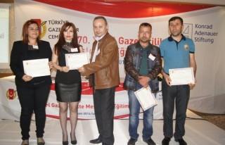 Gazeteciler meslektaşları ile İskenderun'da buluştu