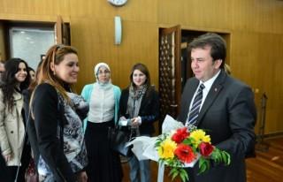 Başkan Erkoç'a Hayırlı Olsun Ziyareti