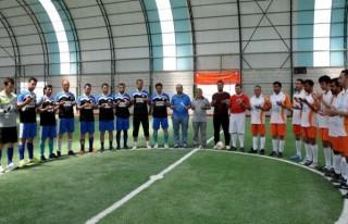 Futbol turnuvası 'Soma' için dua ile başladı