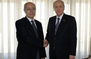 Bahçeli 10. Cumhurbaşkanı Sezer'i ziyaret etti