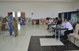 KSÜ'de Üniversiteler Arası Resim Yarışması