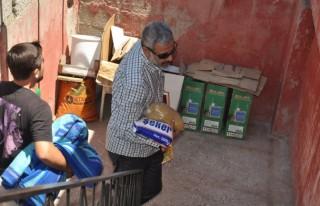 Soma'da ölen işçilerin yardımı duygulandırdı