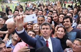 Feyzioğlu, ÇÜ'de Öğrencilerle Bir Araya Geldi