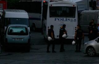 Okmeydanı'nda polis operasyonu