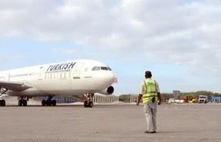 Somali'de THY aracına saldırı