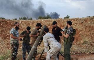 Esed güçlerinin karargahına saldırı