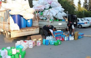 Adana'da sahte deterjan operasyonu