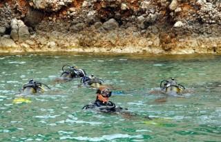 Adrasan ve Olimpos'ta dalış sezonu başladı
