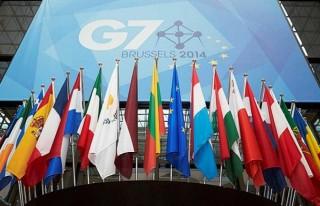 G7 Zirvesi AB'nin ev sahipliğinde yapılıyor