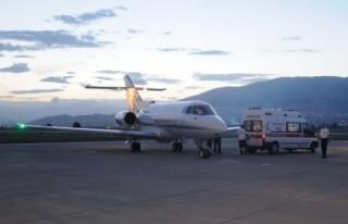Patlamadaki ağır yaralı Malatya'ya sevk edildi