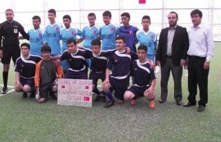 Hafızlar Futbol Turnuvasında Yarıştılar