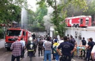 Patlamada hayatını kaybeden polis toprağa verildi
