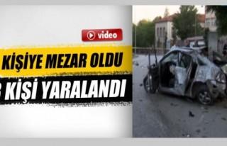 Başkent'te Feci kaza