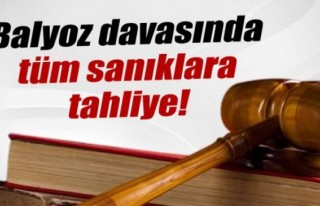 Balyoz'da tüm sanıklara tahliye kararı