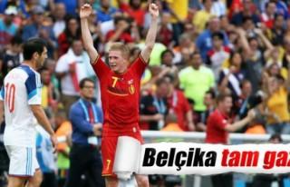 Belçika Rusya'yı devirdi