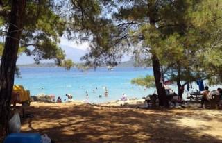 Turistlerin akın ettiği plaj 255 bin liraya ihale...