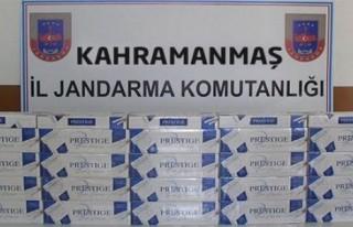 Kahramanmaraş'ta kaçak sigara ve akaryakıt