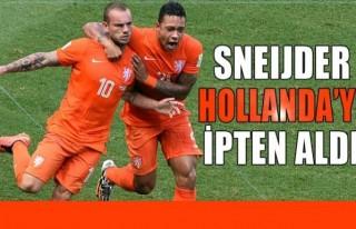 Snijder Hollanda'yı ipten aldı