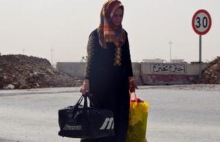 Erbil ve Kerkük'e araç girişi yasaklandı