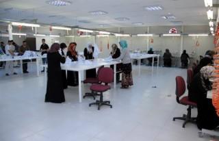 Suriyeli kursiyerler üretime geçti