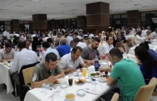 KSÜ'de geleneksel iftar