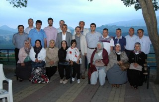 Andırın'da siyasiler iftar verdi