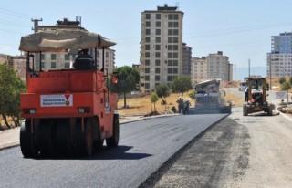 Haydarbey sokakları da asfaltlanıyor