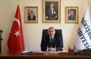 Başkanı Hanefi Mahçiçek'ten bayram mesajı