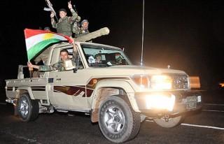 Peşmerge Suriye'ye geçti!