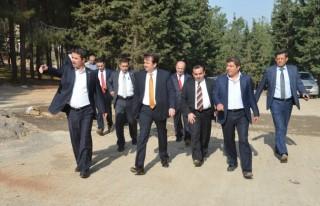 Başkan Erkoç Türkoğlu'ndaydı!