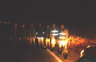Gece Avlanan 4 Kişi Yakalandı!