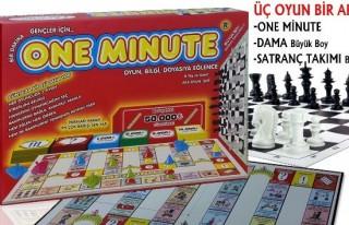 'One Minute' oyun oldu!