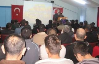 Cezaevinde dini bilgiler yarışması ve konferans