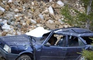 Kahramanmaraş'ta trafik kazası: 2 Ölü, 2 yaralı