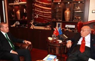 Erdoğan'dan Demirel'e ziyaret