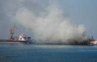 Gemideki yangın kontrol altına alınamıyor!