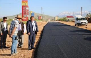 Afşin Belediyesi'nden Kırmızı Kodlu Yol Çalışması