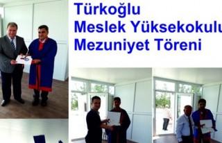 Türkoğlu Meslek Yüksekokulu mezuniyet töreni