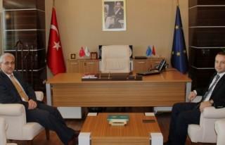 Vali Güvençer TKDK İl Koordinatörlüğünü Ziyaret...