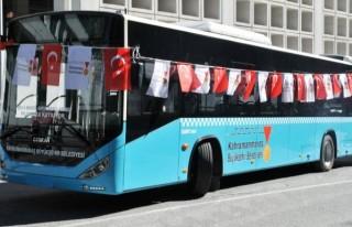 Kahramanmaraş'ta Bayramda otobüsler ücretsiz